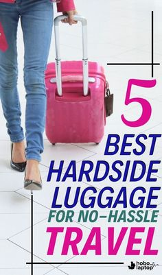 5 Best Hardside Luggage Options for No-Hassle Travel Camping Snacks, Camping Games, Camping Theme, Beach Camping, Camping Recipes, Camping Crafts, Outdoor Camping, Best Luggage, Luggage Suitcase