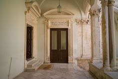 Inside Dubrovnik Rector's palace 2