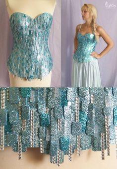 d24801b0e4 An Elsa Costume Requires a Lot of Glitter