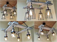 Ceiling Lamp, Industrial Pendant Lights, Rustic Light Fixtures, Silver Hanging Light, Rustic Lodge, French Painted Furniture, Edison Pendant Light, Pendant Light Styles, Silver Light Fixture