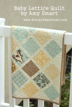Moda Bake Shop: Baby Lattice Quilt