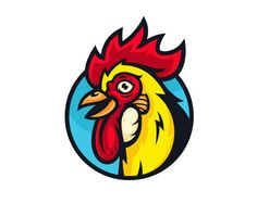 Free Vector Rooster + Video Process