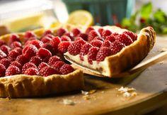 Raspberry and Lemon Tart