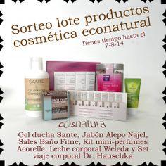 Sorteo de un lote de productos de cosmética econatural ^_^ http://www.pintalabios.info/es/sorteos_de_moda/view/es/3871 #ESP #Sorteo #Cosmetica