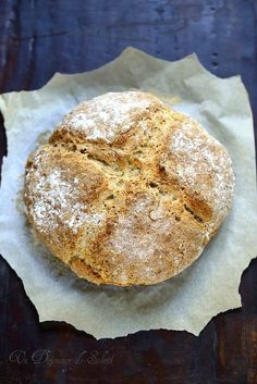 Un dejeuner de soleil: Irish soda bread, pain irlandais express: