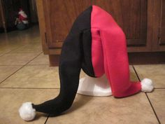Harley Quinn Hat Pattern | Harley Quinn hat back by ~techieofthenight on deviantART