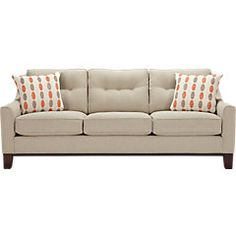 picture of Cindy Crawford Home  Hadly Sleeper  from Sleeper Sofas - Posturepedic Furniture
