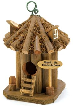 """Zingz & Thingz 9"""" B & B Birdhouse in Multicolor - Beyond the Rack $8.99"""
