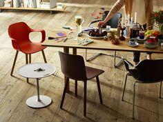 HAL Rise Table Wood Table