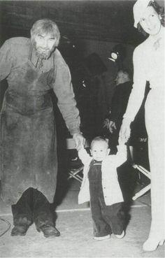Bela Lugosi, wife Lillian & Son Bela Jr.