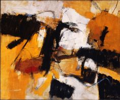 Afro - 1958 - Villa Fleurent - The Montreal Museum of Fine Art Abstract Format, Abstract Oil, Abstract Expressionism, Modern Art, Contemporary Art, Tachisme, Abstract Drawings, Art For Art Sake, Oeuvre D'art