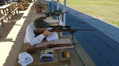 Friday at the range.  Bayou Rifles Addicks Range.   Shooting Suppressed .22s.  Browning 52, GemTech Subsonic and Seiko Emperor Tuna