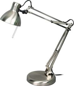 Staples®. has the V-Light® Halogen Swing Arm Task Lamp, Brushed Nickel you need for home office or business $37.99