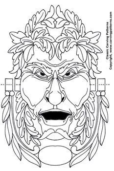 green man coloring pages - photo#24