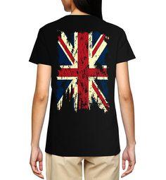 SpiritForged Apparel Vintage Distressed Great Britain Flag Mens Tank Top