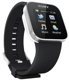 Sony Smartwatch:  First was the watch...then the phone with a clock on it...then the smartphone with everything on it...and now back to the watch hahaha