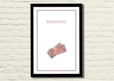 Almost Famous Movie Poster Art Print 11 X 17 by LiltDesignCompany, $23.00