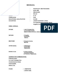 Biodata Format for Marriage Resume Format Free Download, Biodata Format Download, Cv Format, Marriage Biodata Format, Bio Data For Marriage, Assistant Engineer, Information And Communications Technology, Data Sheets, Resume Design