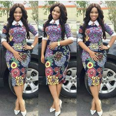 Need to add some colour to your wardrobe? Here are 70 Pictures of currently trending Ankara styles in We give Kudos to the exceptional stylists, and designers who put together these lovely pieces. Modern Ankara Styles in Vogue Unique Ankara Styles, Ankara Dress Styles, African Print Dresses, African Print Fashion, Africa Fashion, African Wear, African Attire, African Dress, African Style