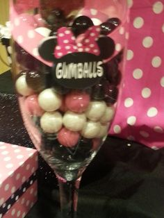 Lisa L's Baby Shower / Minnie Mouse Polka dots - Photo Gallery at Catch My Party Baby Shower Snacks, Baby Shower Parties, Baby Shower Themes, Baby Shower Decorations, Baby Shower Gifts, Shower Ideas, Shower Party, Baby Girl 1st Birthday, Minnie Birthday