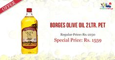 Great Offers & Discount on #Borges #Olive #Oil 2 Ltr Online in Delhi-NCR from Kiraanastore.com. Get Free Home Delivery Available.