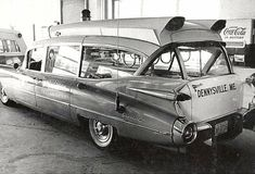 1959 Cadillac Ambulance Maintenance/restoration of old/vintage vehicles: the material for new cogs/casters/gears/pads could be cast polyamide which I (Cast polyamide) can produce. My contact: tatjana.alic@windowslive.com