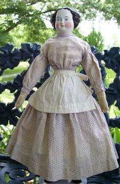 Civil War era dolly...love her!