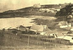 Kiama in 1872. Australian Road Trip, Historical Images, South Wales, Back In The Day, Road Trips, Old Photos, Paris Skyline, Sydney, Past