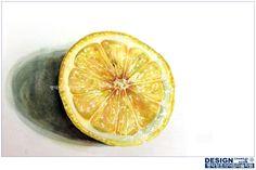 #명덕창조의아침 #기초디자인 #기디 #개체묘사 #자연물 #개체 #레몬