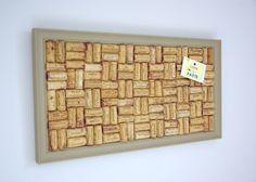 Taupe Wine Cork Notice Board http://www.cuteandpaste.co.uk/#!boards/cjg9