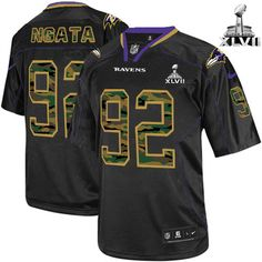 As the official online store of the Baltimore Ravens, we offer you NFL NIKE Baltimore Raven's #92 Haloti Ngata Black With Super Bowl Patch Men's Game Jersey. Check out the latest NFL NIKE Baltimore Raven's #92 Haloti Ngata Black With Super Bowl Patch Men's Game Jersey arrivals in our Ravens jerseys and Women's Ravens jerseys sections. Support the Official Baltimore Ravens Shop and your Baltimore Ravens.$79.99