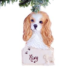 Cavalier King Charles Christmas Personalized by Christmaskeeper, $13.95
