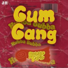 Check out GUM GANG on Spotify or Souncloud, new EP 'Bubble Tape' out now! Album art by me. Tape, Bubbles, Album, Check, How To Make, Design