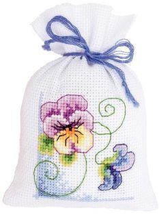 Geurzakje: violets 1