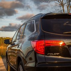 Clouds won't stop the Honda Pilot from getting you where you need to be.