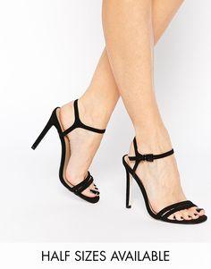 21da18763a37 ASOS HAPHAZARD Heeled Sandals at asos.com