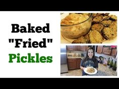 Baked Fried Pickles - Game Day Favorite - All