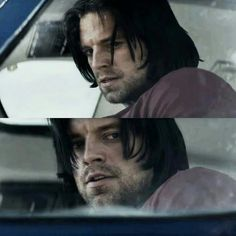 I love Bucky but he scares the living hell out of me when he's on Winter Soldier mode