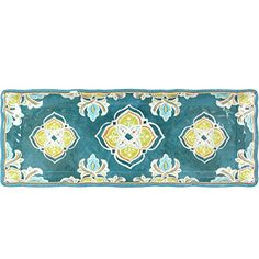Great Le Cadeaux Tangerine - Baguette Tray, 15 by 6 inches