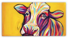 """""""Cowstuff"""" - Painting by Paula Fägnell"""