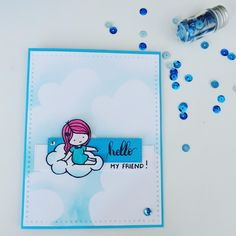 New card challenge from freshly made sketches #FMS275 #cardmaking #lovecynthia