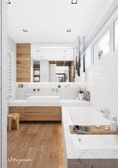 Bathtub, Flooring, Architecture, Bathrooms, Design, Home Decor, Wall, Houses, Future House