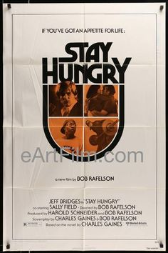 Happy Birthday #ScatmanCrothers https://eartfilm.com/search?q=scatman+crothers #actors #singer #singing #acting #HongKongPhooey #TheShining #Kubrick #Disney #voice #movies #film #cinema #poster #moviesposter #movieposters    Stay Hungry 1976 27x41 Original U.S Movie Poster