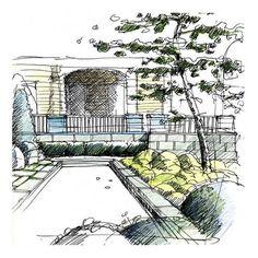 landscape architecture sketches - Google Search