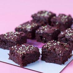 Zucchini-Brownies vegan