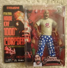 NECA House of 1000 Corpses Captain Spaulding Pig Shirt Action Figure #NECA