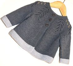 KNITTING PATTERN-Ciqala Arrowhead Sweater – The Effective Pictures We Offer You About arm knitting A quality picture can tell you many things. Baby Knitting Patterns, Baby Cardigan Knitting Pattern Free, Baby Sweater Patterns, Knit Baby Sweaters, Knitted Baby Clothes, Knitting For Kids, Knitting Designs, Knitted Baby Cardigan, Lace Knitting