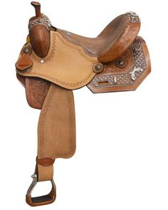 Double T Barrel Saddle - #469