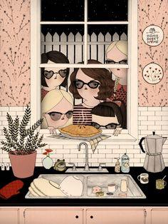 Cat Burglars by Mai Ly Degnan