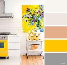 Сочетания цветов для кухни - Дизайн интерьеров | Идеи вашего дома | Lodgers